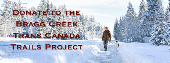 Trans Canada Trail Fundraiser Information in Bragg Creek