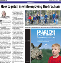 Herald article VOLUNTEER