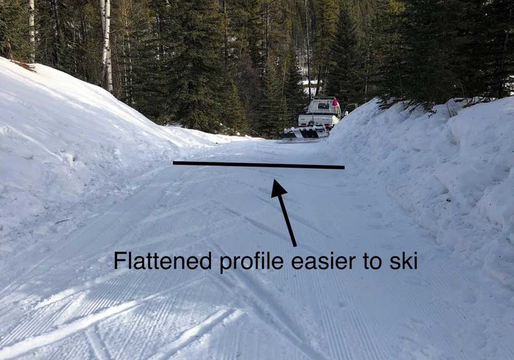 GBCTA Ski Trails Reworked